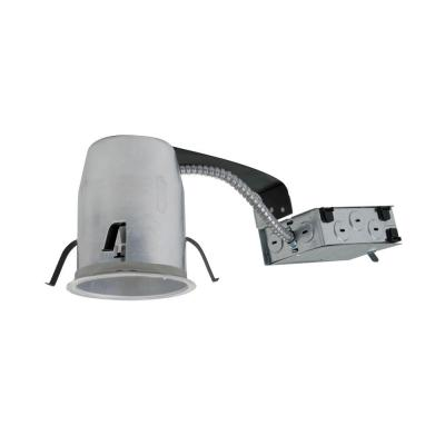 4 in. Aluminum Recessed Lighting LED T24 Remodel IC Air-Tite Housing