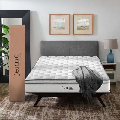 Jenna 8 in. Medium Innerspring Pillow Top Mattress