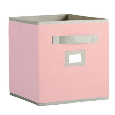 Martha Stewart Living 10-1/2 in. x 11 in. Sugared Pink Fabric Drawer