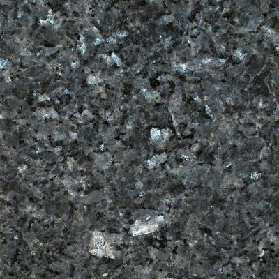 3 in. Granite Countertop Sample in Blue Pearl Product Photo