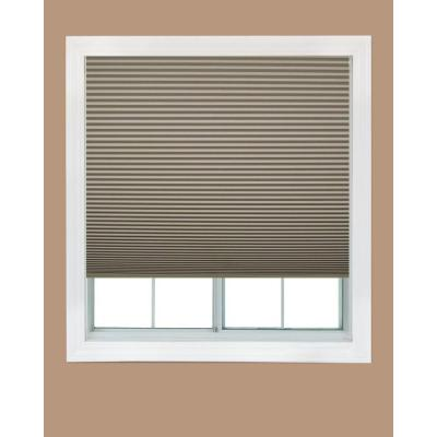 Redi Shade Trim-at-Home Easy Lift Natural 9/16 in. Cordless Blackout Cellular Shade - 36 in. W x 64 in. L