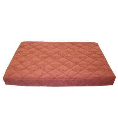 Large Protector Pad Quilted Orthopedic Jamison Pet Bed - Earth Red