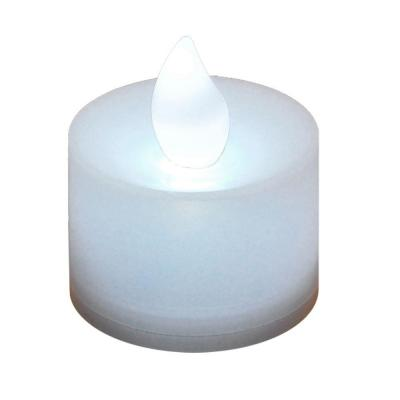 Lumabase Bright White Non-flickering LED Tealights (Box of 12)