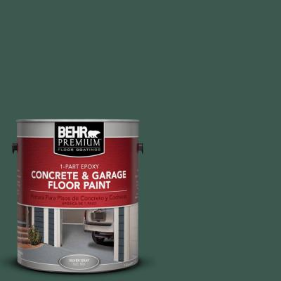 1-Gal. #PFC-45 Patio Green 1-Part Epoxy Concrete and Garage Floor Paint
