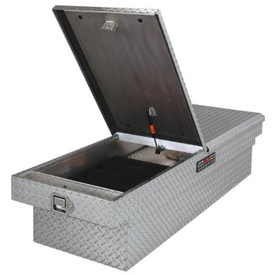 Delta 21 in. Aluminum Mid Lid Full Size Crossover Tool Box with Gearlock in Black