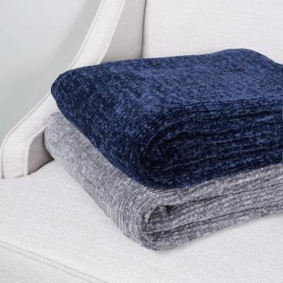 100% Acrylic Chenille Throw