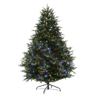 Home Accents Holiday 7 5 Ft Deluxe Balsam Fir Ez Power