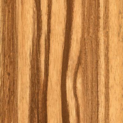 Distressed Strand Woven Bamboo Safari Vinyl Plank Flooring - 5 in. x 7 in. Take Home Sample Product Photo