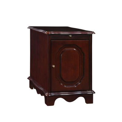 Heirloom Cherry Magazine Cabinet Table