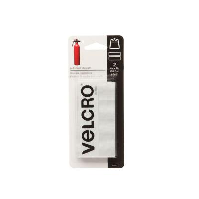 VELCRO brand 4 in. x 2 in. Industrial Strength Strips (2-Pack)