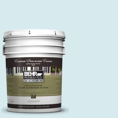 Behr premium plus ultra home decorators collection 5 gal hdc md 23 ice mist semi gloss enamel - Behr home decorators collection image ...
