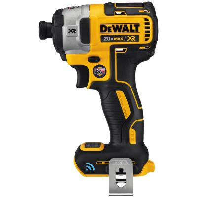 DEWALT 20-Volt MAX XR with Tool Connect Premium Brushless Lithium-Ion ¼in Hex Impact Driver (Tool Only)