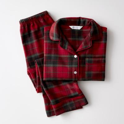 Family Flannel Company Cotton™ Kid's Pajama Set in Red Plaid