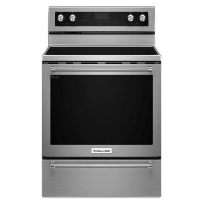 30 in. 6.4 cu. ft. Electric Range with Self-Cleaning Convection Oven