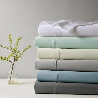 1000 Thread Count Heiq 4-Piece Cotton Blend Anti-Microbial Sheet Set