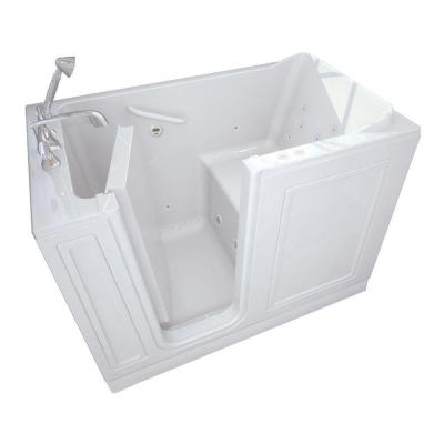 Acrylic Standard Series 51 in. x 30 in. Walk-In Whirlpool and