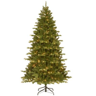 7-1/2 ft. Feel Real Sheridan Spruce Hinged Artificial Christmas Tree with