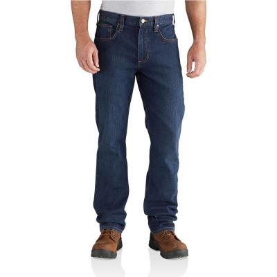 Men's Cotton/Polyester Rugged Flex Relaxed Straight Jean