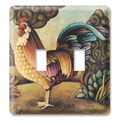 Rooster 1 Toggle Wall Plate Product Photo