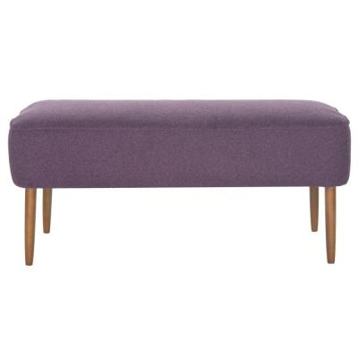 Levi Polyester Bench in Plum Product Photo