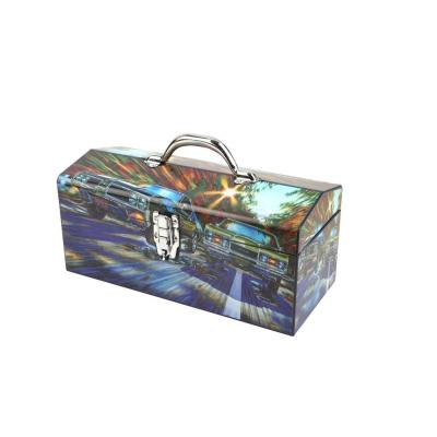 Sainty International 16 in. 4-Barrell 4-Speed with Dual Exhaust Art Tool Box