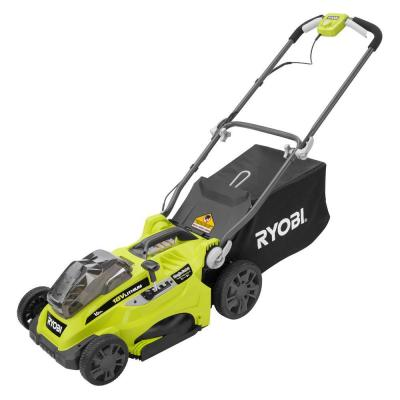 16 in. ONE+ 18-Volt Lithium-ion Cordless Lawn Mower - Battery and