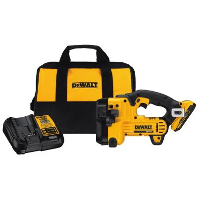 DEWALT 20-Volt MAX XR Lithium-Ion Cordless Threaded Rod Cutter with Battery 2Ah, Charger and Contractor Bag