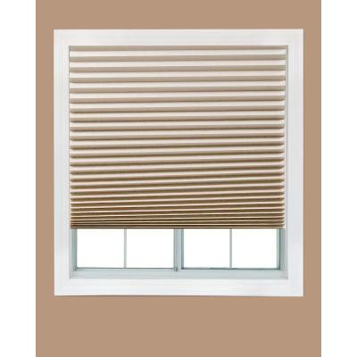 Natural Paper Light Filtering Pleated Shade - 48 in. W x 72 in. L (4-Pack) Product Photo