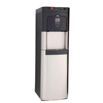 Glacial Filter and Self-Clean Stainless Base Load Water Cooler - Uses Brita Pitcher Filters