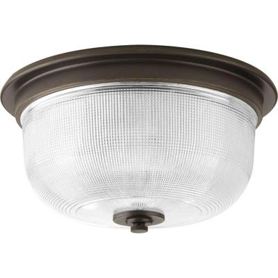 Archie Collection 2-Light Venetian Bronze Flushmount Product Photo