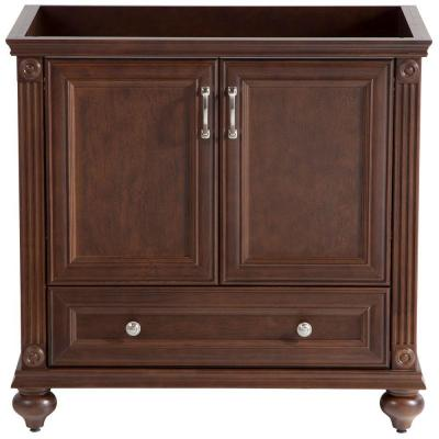 Home decorators collection annakin 36 in vanity cabinet only in cognac clsd3621 cg the home depot Home decorators collection 36 vanity