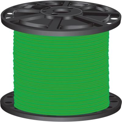 2,500 ft. 6-Gauge Green Stranded CU SIMpull THHN Wire