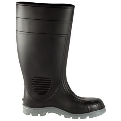 Men's Black Poultry Tuff Industrial Steel Toe PVC Boot