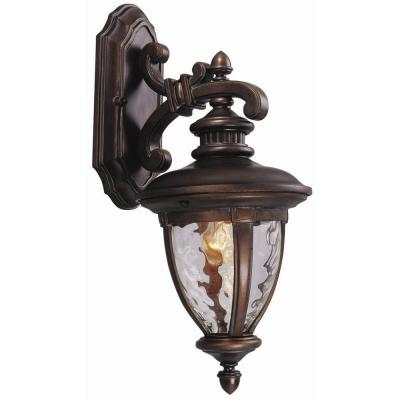 Design House Tolland Patina Bronze Outdoor Wall-Mount Downlight