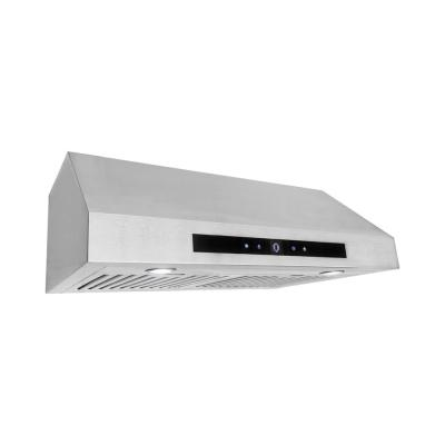 Cosmo 30 in. Under Cabinet Range Hood in Stainless Steel with Touch Display and Permanent Filters