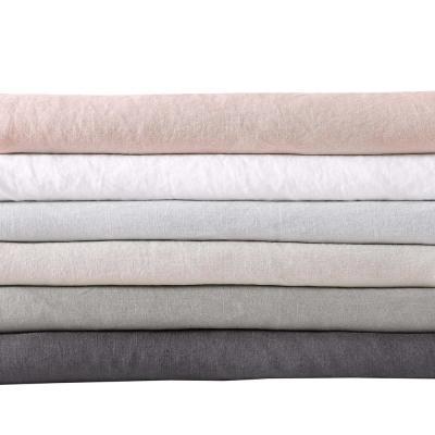 Flax Linen Solid 300-Thread Count Linen Sheet Set