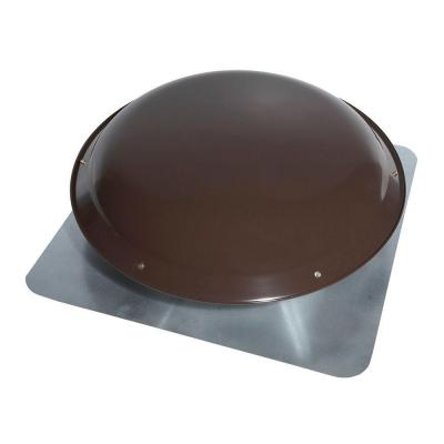 1000 CFM Power Steel Roof Attic Ventilator in Dark Brown Product Photo