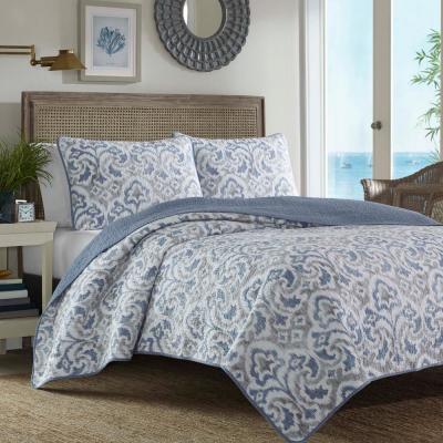 Cape Verde Multi-Piece Cotton Quilt Set
