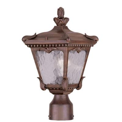 Livex Lighting Providence 7 in. Outdoor Imperial Bronze Post Head Lantern