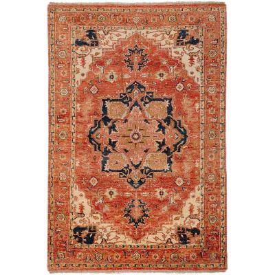 Strozzi Rust 8 ft. x 11 ft. Area Rug