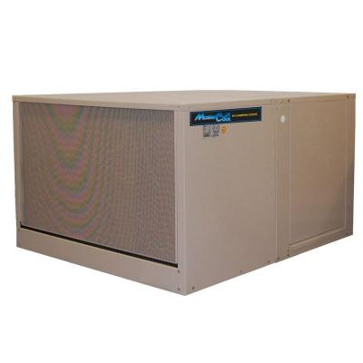 5000 CFM 120-Volt 2-Speed Down-Draft Roof 12 in. Media Evaporative Cooler for 1650 sq. ft. (with Motor) Product Photo