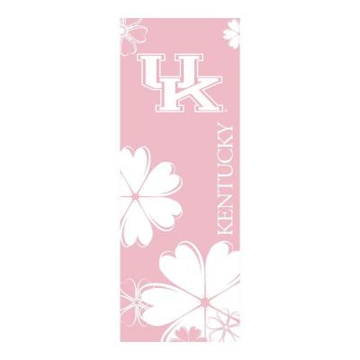 FANMATS University of Kentucky 24 in. x 67.5 in. Yoga Mat-DISCONTINUED