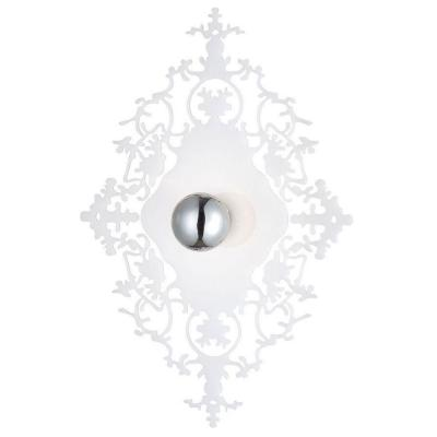 Eurofase Royal Collection 1-Light Milky White Wall Sconce