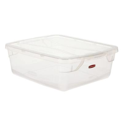 Rubbermaid Clever Store Snap-Lid 3.75 Ga. Clear Container