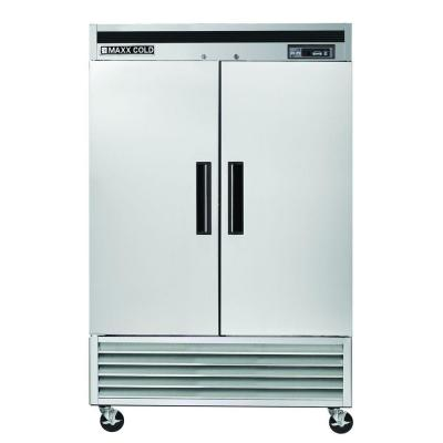 49 cu. ft. Commercial Reach in Freezer in Stainless