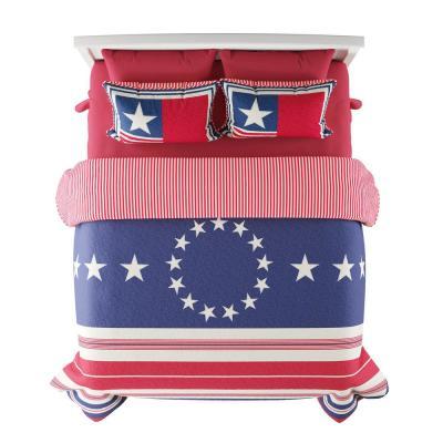 Glory Bound Hypoallergenic Quilt Bedspread Set