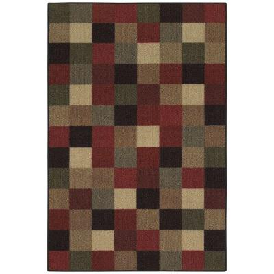 Mohawk Home Malone Multi 2 ft. 6 in. x 3 ft. 10 in. Accent Rug