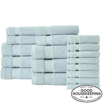 Egyptian Cotton 18-Piece Towel Set