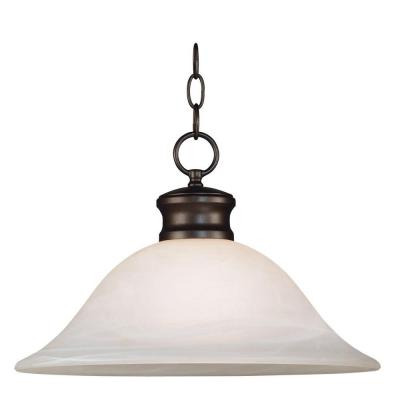 Kenroy Home Wynwood 16 in. Brushed Bronze DownLight Pendant 91398BBZ