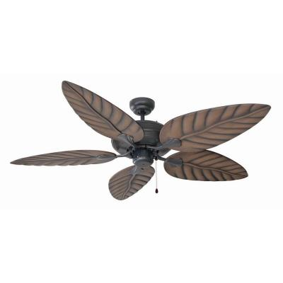 Martinique 52 in. Oil Rubbed Bronze Ceiling Fan with No Light